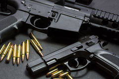 Guns Royalty Free Stock Image
