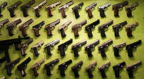 Guns for sale Royalty Free Stock Photos