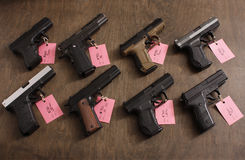 Guns for sale Stock Photography