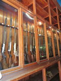 Guns for sale Stock Image