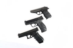 3 Guns Stock Image