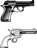 Guns vector Royalty Free Stock Photo