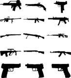 Guns vector Royalty Free Stock Images