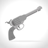 Guns and weapons. Icon graphic design,  illustration eps10 Stock Photo