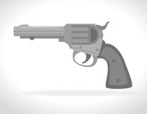 Guns and weapons. Icon graphic design,  illustration eps10 Royalty Free Stock Images