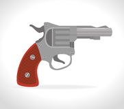 Guns and weapons. Icon graphic design,  illustration eps10 Royalty Free Stock Photos