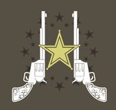 Guns11 Stock Image