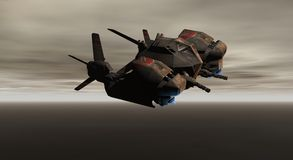 Gunship Stock Photography