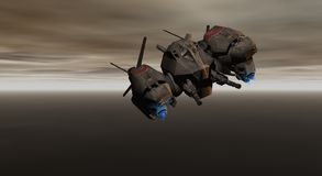 Gunship Royalty Free Stock Photo
