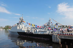 Gunship Makhachkala Royalty Free Stock Photos