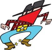 Gunslinger Στοκ εικόνες με δικαίωμα ελεύθερης χρήσης