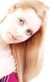 Gunst 9 van de blonde royalty-vrije stock foto