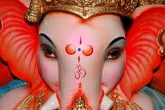 Gunstig Gezicht van Lord Ganesh stock foto