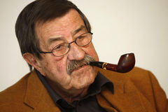 Gunter Grass. Author Gunter Grass, took part in a special panel discussion on April,2010,in Istanbul.The event marked the final stop of the Goethe Institut's Stock Image