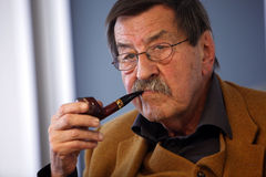 Gunter Grass. ISTANBUL-APRIL 17:Author Gunter Grass, took part in a special panel discussion on April 17,2010,in Istanbul.The event marked the final stop of the Stock Photos