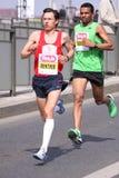 Gunther Weindlinger -Prague half marathon Stock Image