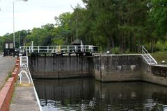 Gunthorpe Lock Stock Image
