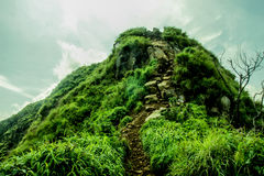 Gunung巴图Jonggol西爪哇省 库存图片