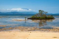 Gunung Agung od Nusa Lembongan Fotografia Stock