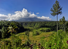 Gunung Agung volcano Stock Images