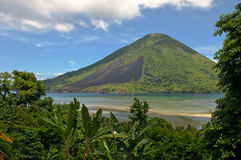 Gunung Api volcano, Banda islands, Indonesia Stock Image