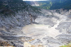 Gunung Bartur火山 免版税库存照片