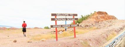 Gunung Botak Photos stock