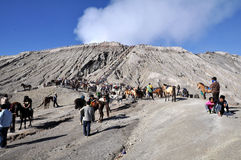 Gunung Bromo Stock Photography