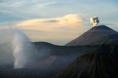 Gunung Bromo at dawn Royalty Free Stock Images