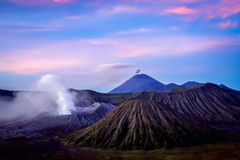Gunung Bromo at dawn Stock Photography