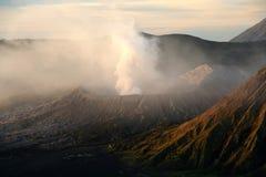 Gunung Bromo por la mañana imágenes de archivo libres de regalías