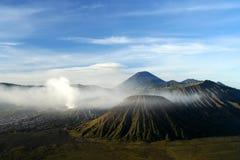 Gunung Bromo after sunrise Royalty Free Stock Photo
