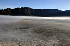 Gunung Bromo valley. Early morning view from Gunung Bromo, Java, Indonesia Stock Photography