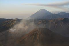 Gunung bromo volcano dawn java royalty free stock photography