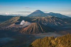 Gunung Bromo Volcano Indonesia imagem de stock