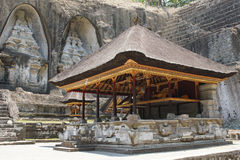 Gunung Kawi,巴厘岛,印度尼西亚 免版税库存图片