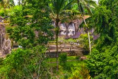 Gunung Kawi świątynia, Bali, Indonezja obraz stock