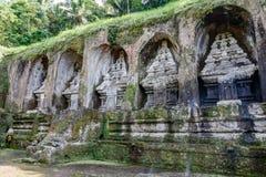 Gunung Kawi, antyczna świątynia i pogrzebowy kompleks w Tampaksiring, Bali, Indonezja fotografia royalty free