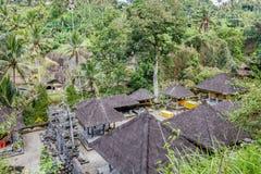 Gunung Kawi, antyczna świątynia i pogrzebowy kompleks w Tampaksiring, Bali, Indonezja fotografia stock