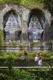 Gunung Kawi, Bali Indonésie Images stock