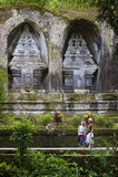 Gunung Kawi, Bali Indonesië stock afbeeldingen