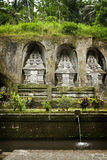 Gunung Kawi, Bali, Indonesia. Gunung Kawi is an 11th-century Hindu temple complex in Tampaksiring north east of Ubud in Bali, Indonesia. It is located on the Royalty Free Stock Photography