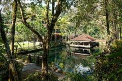 Gunung Kawi Sebatu寺庙在巴厘岛 库存照片