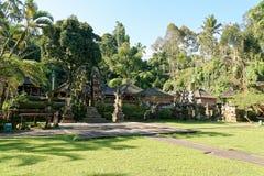 Gunung Kawi Sebatu寺庙 库存图片