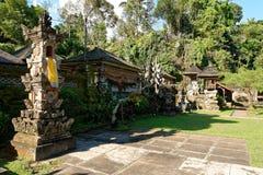 Gunung Kawi Sebatu寺庙 免版税库存图片