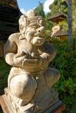 Gunung Kawi Sebatu Temple Statue. A statue in the Gunung Kawi Sebatu Temple near Ubud in Bali Stock Photo