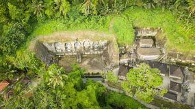 Gunung kawi temple in bali royalty free stock photos