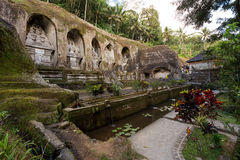 Gunung kawi temple in Bali Royalty Free Stock Photography