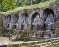 Gunung Kawi Temple Bali. Funeral monuments at Gunung Kawi Temple near Ubud, Bali, Indonesia Royalty Free Stock Images