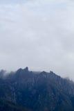Gunung Kinabalu. Mount kinabalu at borneo, Sabah Malaysia Royalty Free Stock Image
